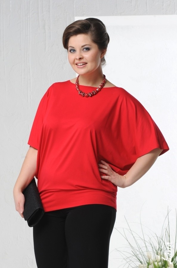 48e8febf539 Выбираем идеальную блузку для полных женщин - магазин