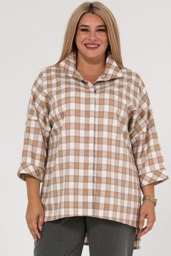 """Рубашка """"Luxury Plus"""" 1252 (Бежевый)"""