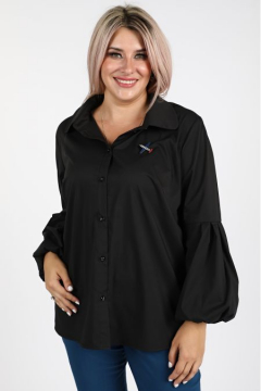 "Рубашка ""Luxury Plus"" 1091 (Черный)"