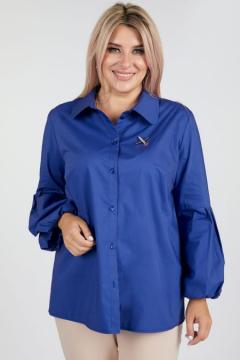 """Рубашка """"Luxury Plus"""" 1091 (Синий)"""