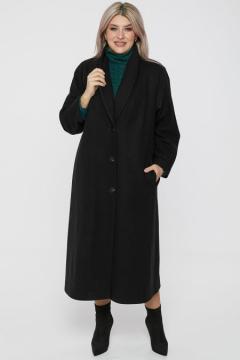 "Пальто ""Luxury Plus"" 1176 (Черный)"