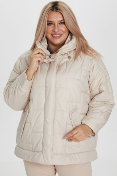 "Куртка ""Luxury Plus"" 1173 (Молочный)"