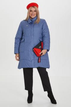"Пальто ""Luxury Plus"" 1170 (Голубой)"