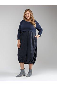 """Платье """"Её-стиль"""" 2041 (Синий)"""