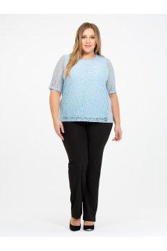 Блузка 110102807 (Голубой)