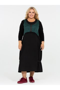 Платье 120201810 (Зеленый)