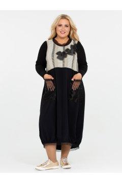 Платье 120201901 (Черный)
