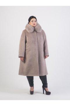 """Пальто """"Тревери"""" 73805 (Бежевый)"""