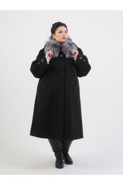 """Пальто """"Тревери"""" 73835 (Черный)"""