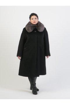"""Пальто """"Тревери"""" 73815 (Черный)"""