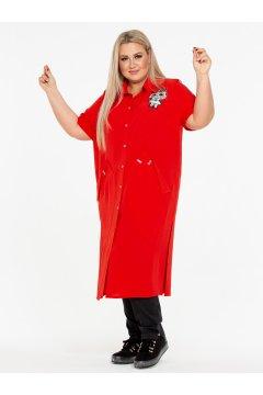 Блузка 130105205 (Красный)