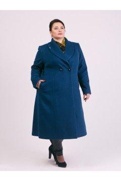 """Пальто """"Тревери"""" 72025 (Бирюзовый)"""