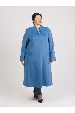 """Пальто """"Тревери"""" 69215-1 (Голубой)"""