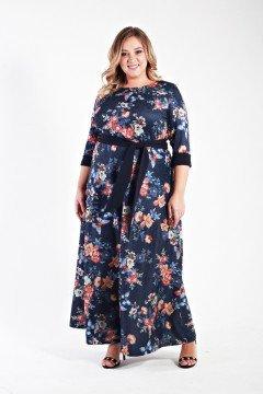 Платье 131106 (Мультиколор)