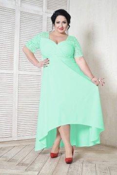 Платье 109402 (Ментоловый)