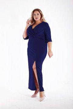 Платье 1213202 (Темно-синий)