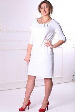 Платье 086405 (Белый)