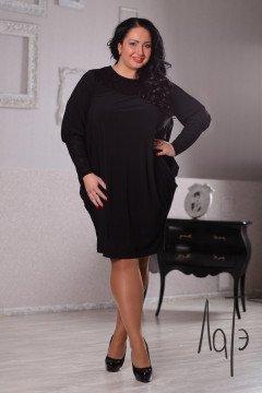 Платье 040803 (Черный)