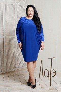 Платье 050805 (Васильковый)