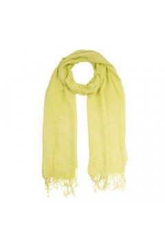 Желто-зеленый палантин