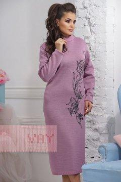 Платье женское 2293 (Камелия/антрацит)