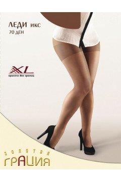 Колготки Леди Икс 70 den XL (Черный)