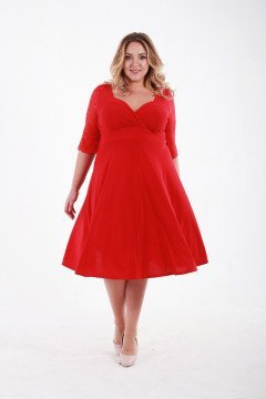 Платье 1111403 (Красный)