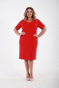 Платье 061503 (Красный)