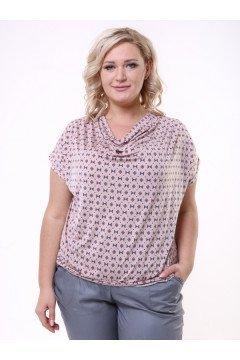 """Блуза """"Качели"""" 1105-033 (Розовый)"""