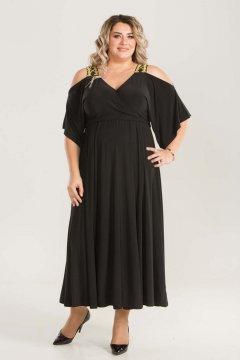 Платье 657 (Черный)