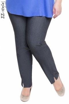 """Брюки """"Её-стиль"""" 3082 (Чёрный джинс)"""