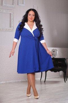 Платье 043302 (Васильковый)