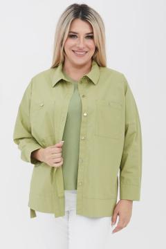 """Рубашка """"Luxury Plus"""" 1090 (Светло-зеленый)"""