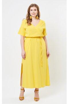 """Платье """"Лина"""" 5278 (Желтый)"""