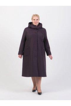 """Пальто """"Тревери"""" 75903-1 (Фиолетовый)"""