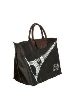 Сумка дорожная Antan black 175 Eiffel tower black