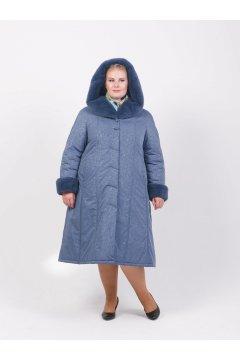 "Пальто ""Тревери"" 71614Т-3 (Серый)"