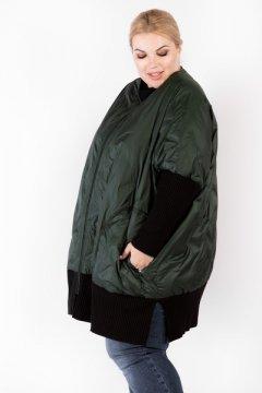 """Куртка """"Артесса"""" KR00233GRN45 (Темно-зеленый)"""