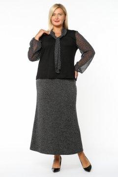 Блуза 3003-073 (Черный)