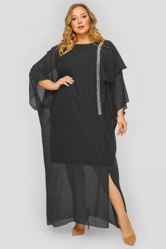 """Платье """"ЛаТэ"""" 1823901 (Черный)"""