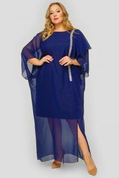 """Платье """"ЛаТэ"""" 1823902 (Темно-синий)"""