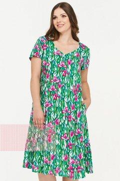 Платье женское 181-3433 (Ирисы)