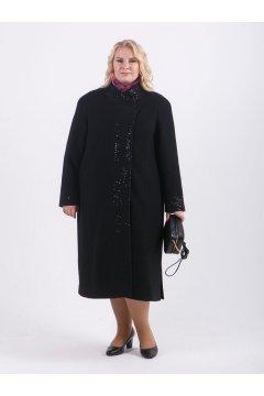 """Пальто """"Тревери"""" 79905 (Черный)"""
