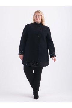 """Пальто """"Тревери"""" 80005 (Черный)"""