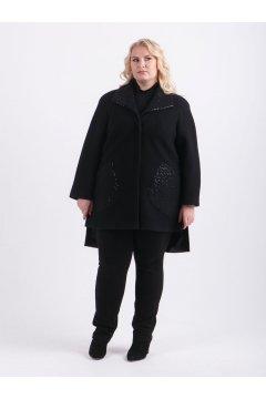 """Пальто """"Тревери"""" 79505 (Черный)"""