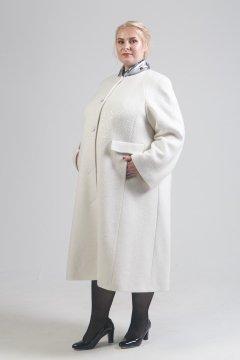 """Пальто """"Тревери"""" 70705 (Белый)"""
