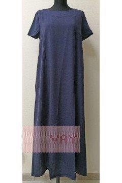 Платье женское 191-3486 (Саргассово море)