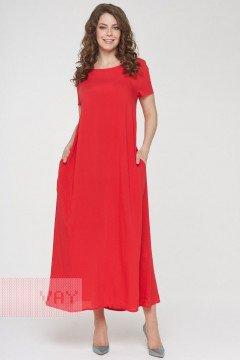 Платье женское 191-3486 (Доблестный мак)