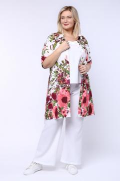"Рубашка ""Весна"" 1231-001 (Белый)"