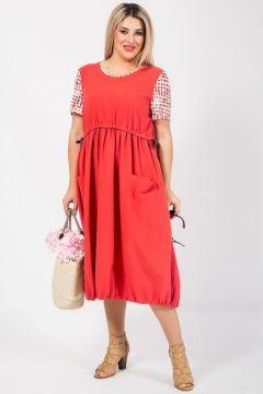 "Платье ""Luxury Plus"" 1053 (Коралловый)"